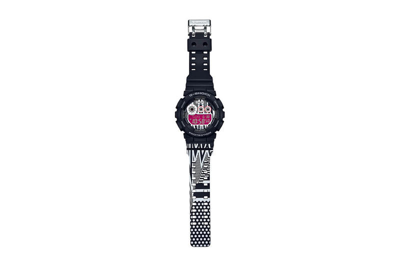 Marok G-SHOCK GD-120LM-1AJR Watch Magenta Purple Graphic Print How to buy cop purchase Availability