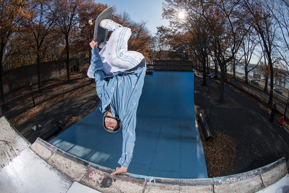 mark gonzales gonz krooked adidas skateboarding footwear apparel fashion art artwork skate vision decks 2018 clothing collection capsule