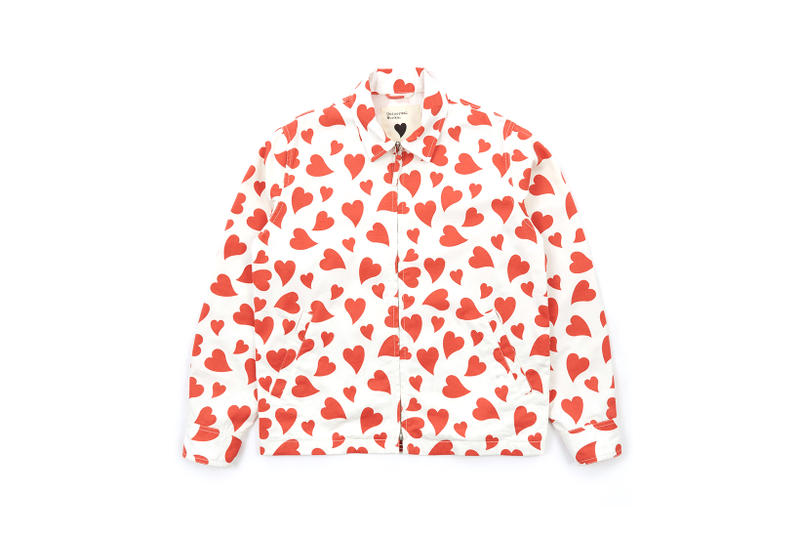 Goodhood Universal Works Heart Print Windcheater Jacket 10th Anniversary Birthday Collaboration Release Details Closer Look