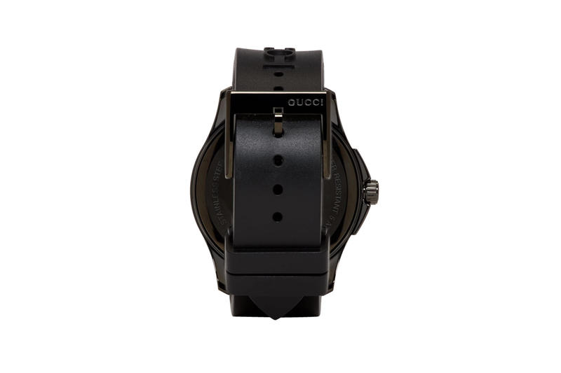 Gucci Black G-Timeless Angry Cat Watch release info accessories watches purchase price timepiece quartz Water resistant