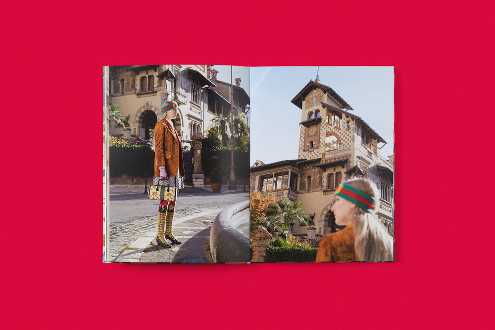 Gucci Peter Schlesinger limited edition disturbia art book pre fall 2018 collection photograph rome idea 1000 may 3 2018 dover street market new york party