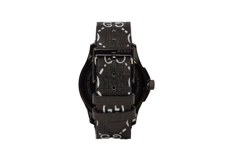 Black G-Timeless GucciGhost Watch release info accessories watches