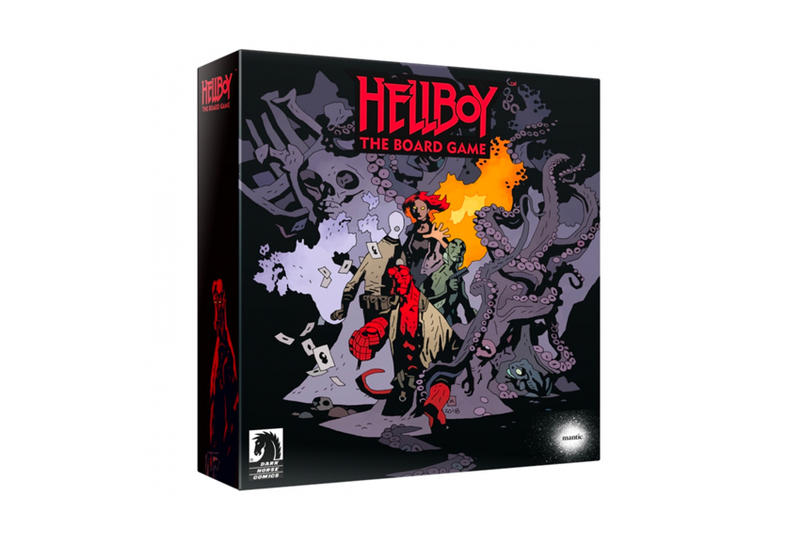 Hellboy Board Game $1 Million USD Kickstarter funding gaming play comic book series