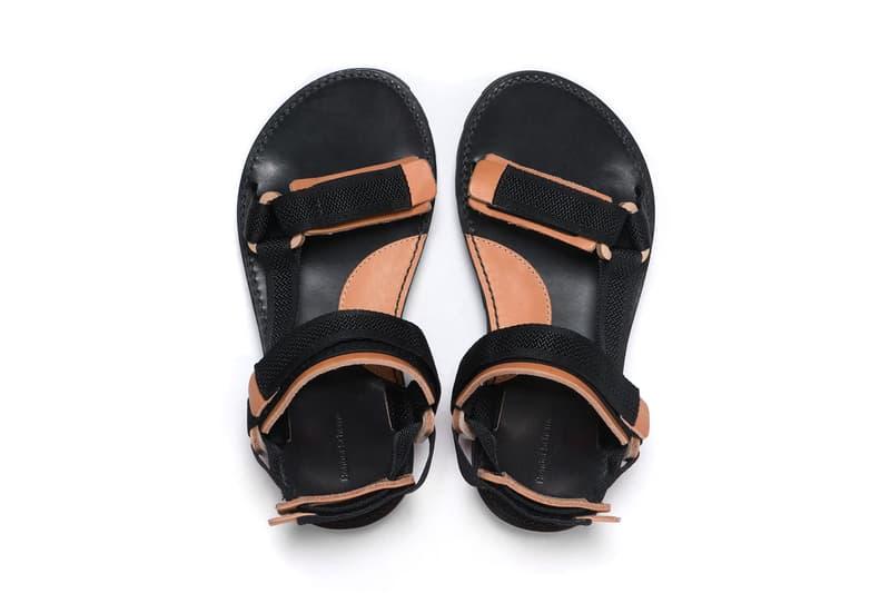 Hender Scheme spring summer 2018 Ryo Kashiwazaki footwear slippers sandals leather accessories