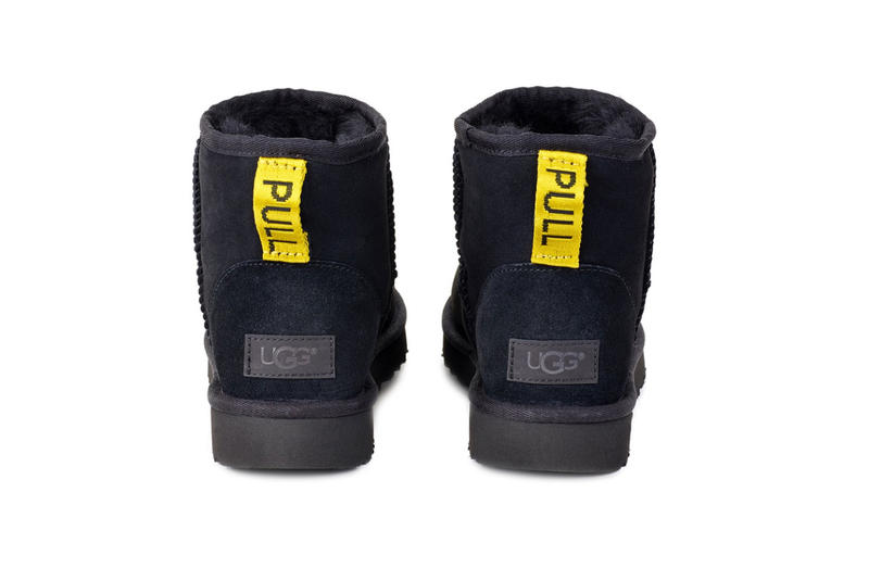 Heron Preston UGG Collaboration Customized Classic Mini Boot