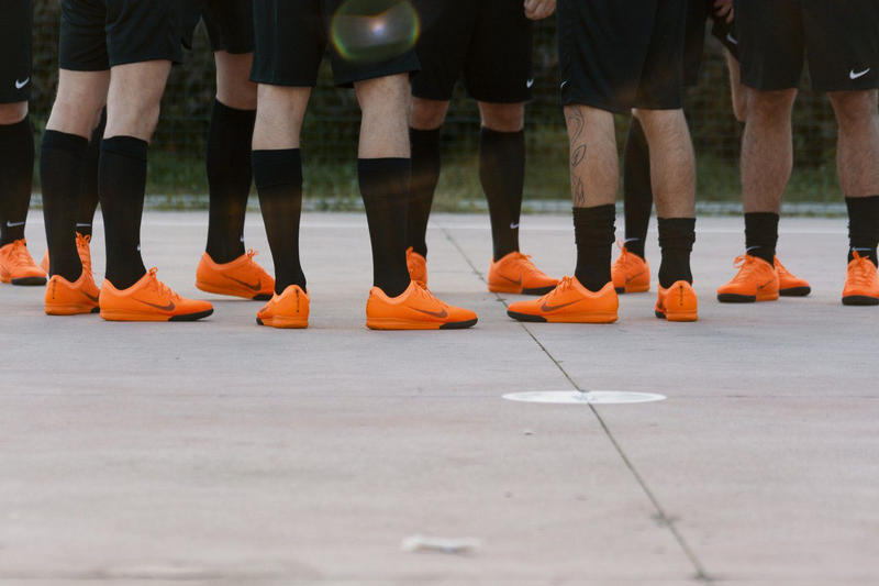 Heron Preston vs Off-White™ Soccer Game Recap Nike Brothers of the World Milan Football