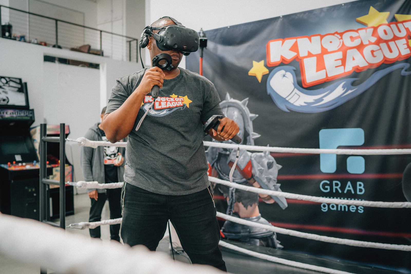 Harold Vancol Hans Vancol Grab Games VR AR Virtual Reality Augmented Reality Air Jordan 9 11 Bred DB Nike Sneaker Bots Gaming Video Games Technology Doernbecher Knockout League YEEZY Boxing