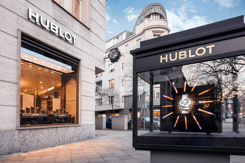 Hublot Italia Independent Eyewear Collection Glasses Licensing Agreement Swiss Watch Maker Brand