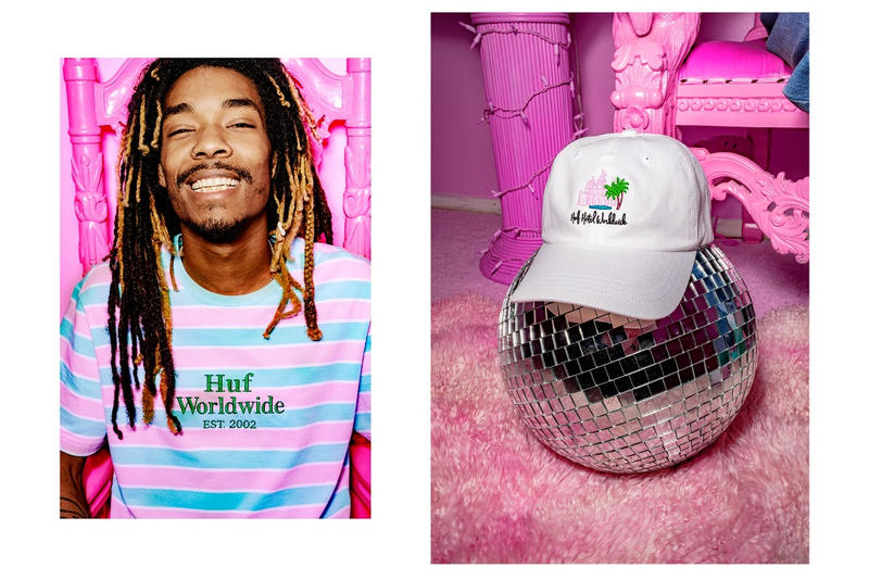 HUF Hotel Smokers Lounge 420 Collection 2018 spring summer
