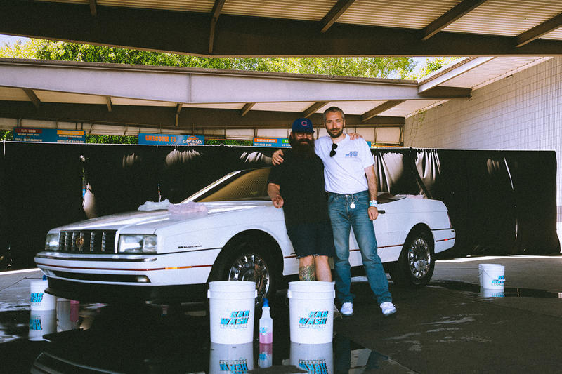 HYPEBEAST L'art de l'automobile KAR WASH event recap arthur car los angeles pop-ups
