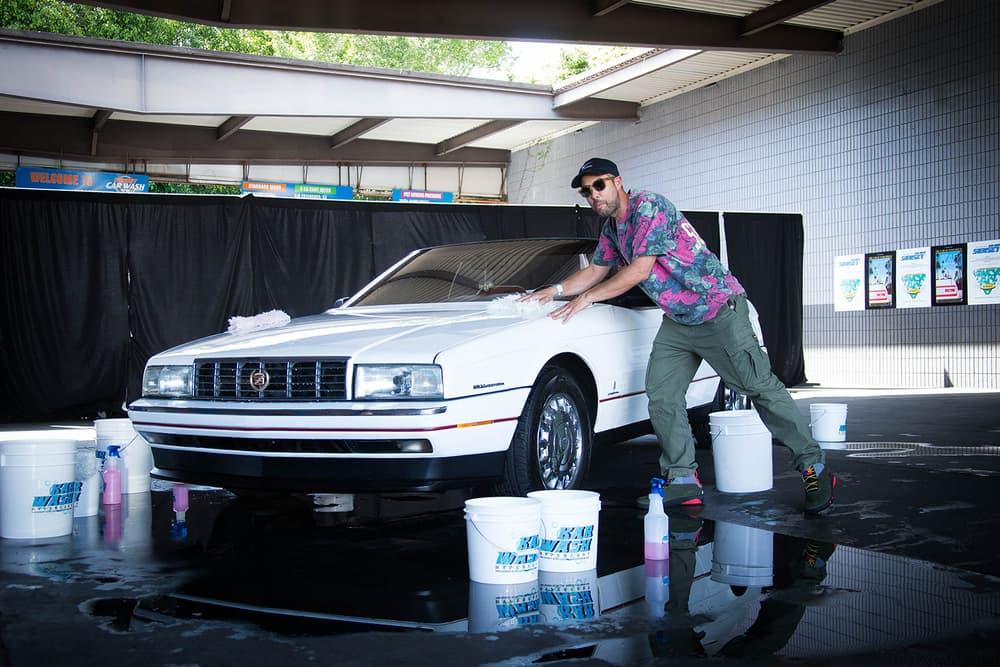 HYPEBEAST L'art de l'automobile KAR WASH event recap arthur car los angeles pop-ups