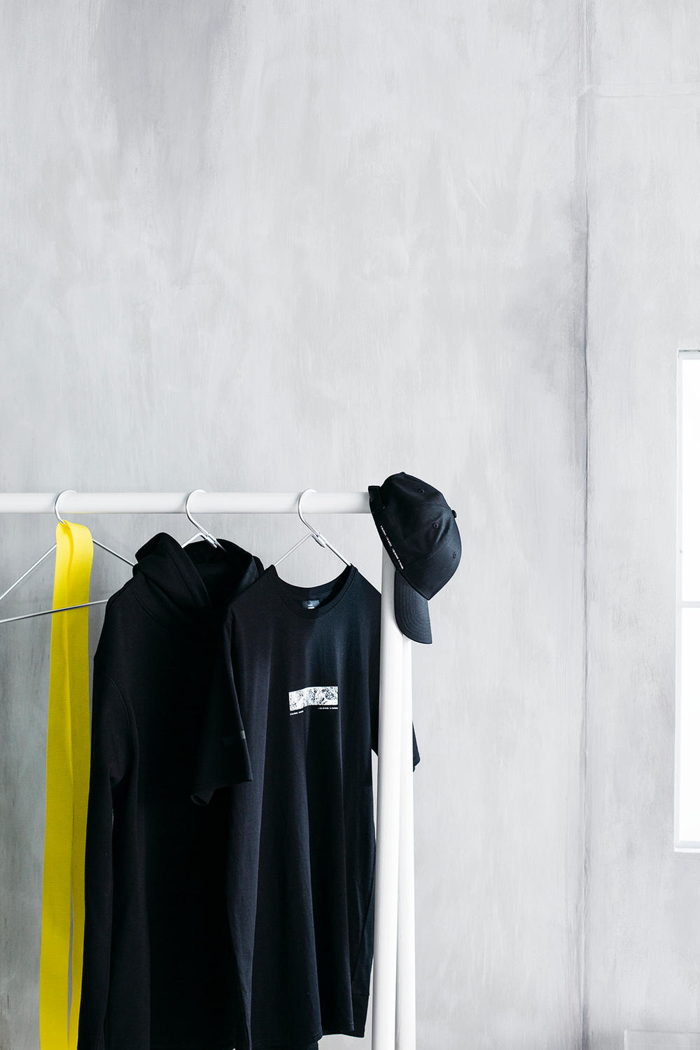 Stampd ikea chris stamp SPÄNST collaborative collection furniture hat skateboard basketball hoop desk table stand armchair wardrobe light sticks duffel bag clothes rack box cushion cover water bottle travel towel noticeboard