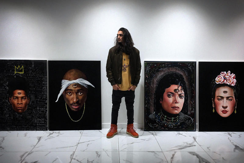 Artist Isaac Pelayo Recalls Connecting With Westside Gunn & Selling A Biggie Painting To Diddy