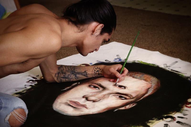 isaac pelayo vision exhibition los angeles california art artwork paintings