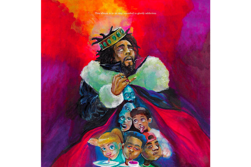 J. Cole 'K.O.D.' Deluxe Version twitter question and answer