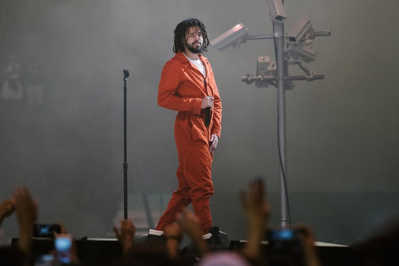 J. Cole KOD Debut  No 1 album sales figures streaming streams spotify billboard 200