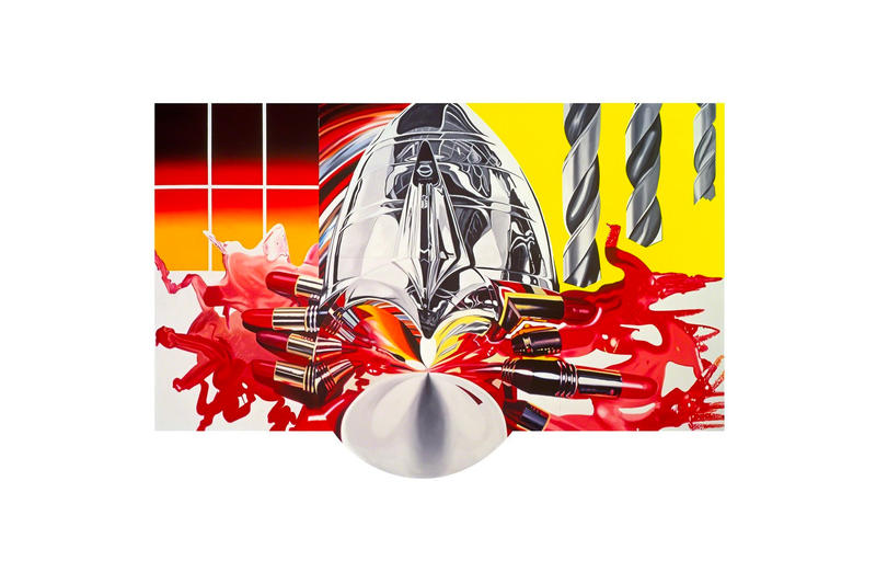 James Rosenquist Painting as Immersion ARoS exhibition showcase