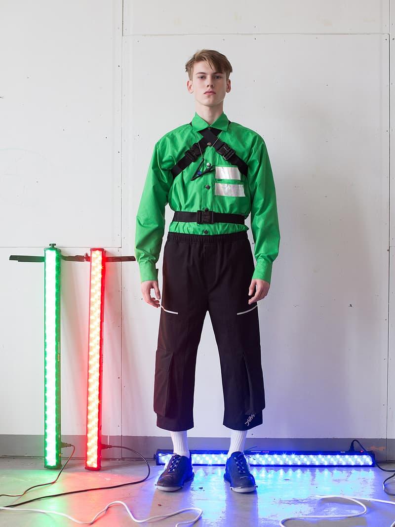 Jan Cerny Fall/Winter 2018 Collection Lookbook Sentimental fear prague czech designer