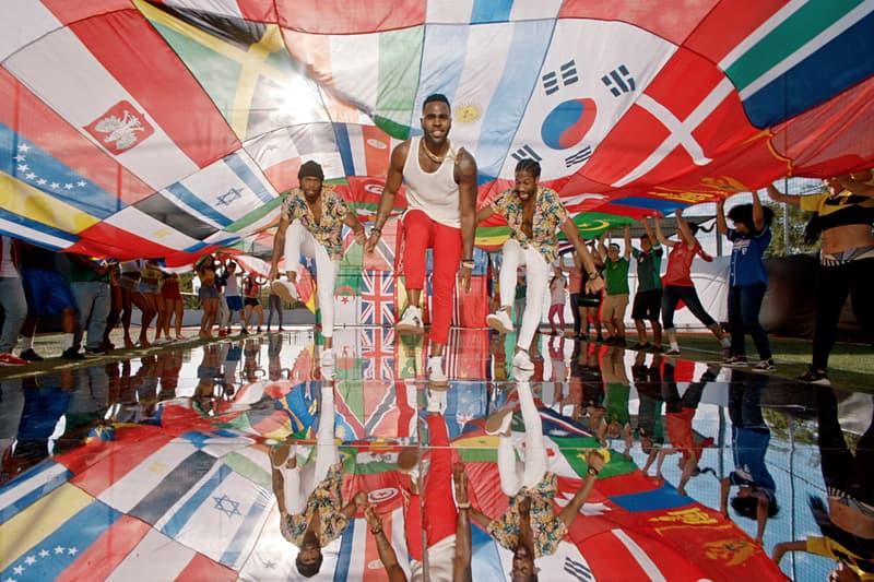 Jason Derulo 2018 FIFA World Cup Colors coca-cola Video haiti football soccer