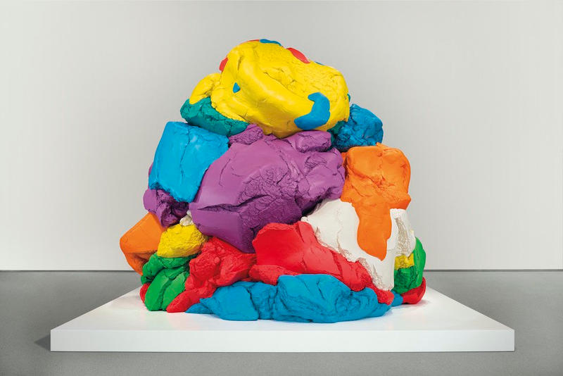 Jeff Koons Play Doh Sculpture Auction Christies may 17 2018 20 million usd dollars new york aluminum