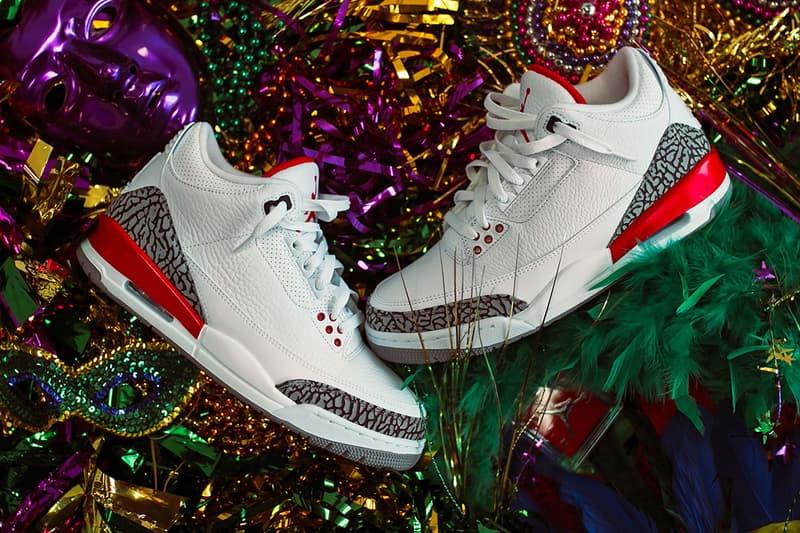 Air Jordan 3 katrina brand sneaker politics drop april 28 early exclusive block party retro reissue 2005