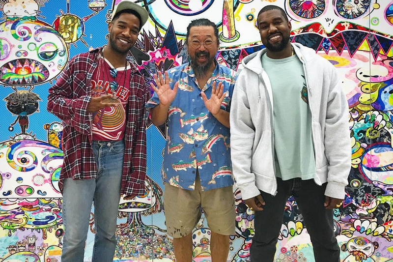 Kanye West takashi Murakami Kids See Ghosts cover album art kid cudi good music