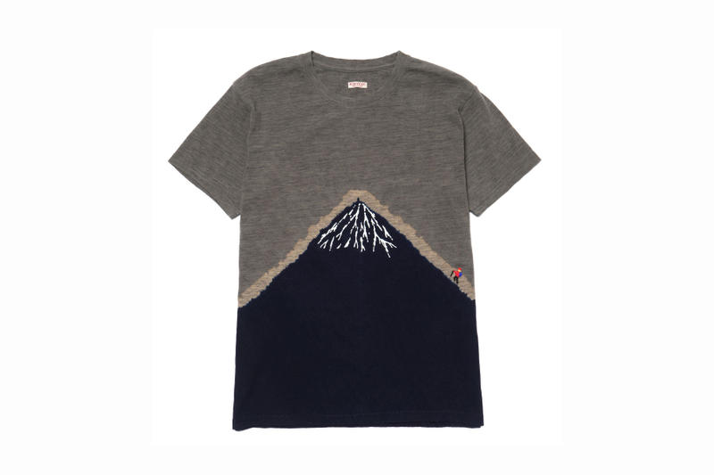 KAPITAL Indigo-Dyed Graphic T-Shirt Collection release purchase available now