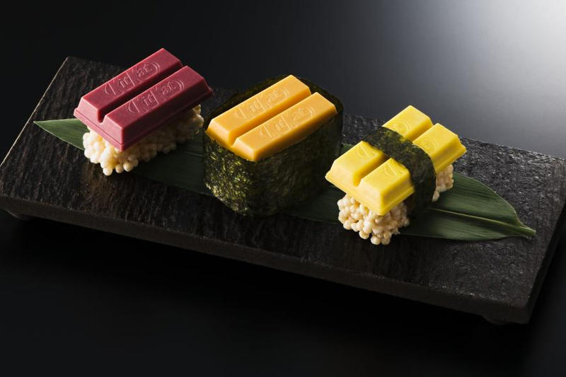 Kit Kat Japan Sushi Pieces Return 2018 release