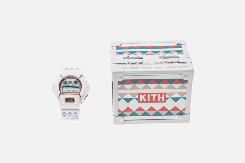 KITH G-SHOCK DW6900 EEA Element Exploration Agency Closer Look Watch Ronnie Fieg Watches Release Details Information