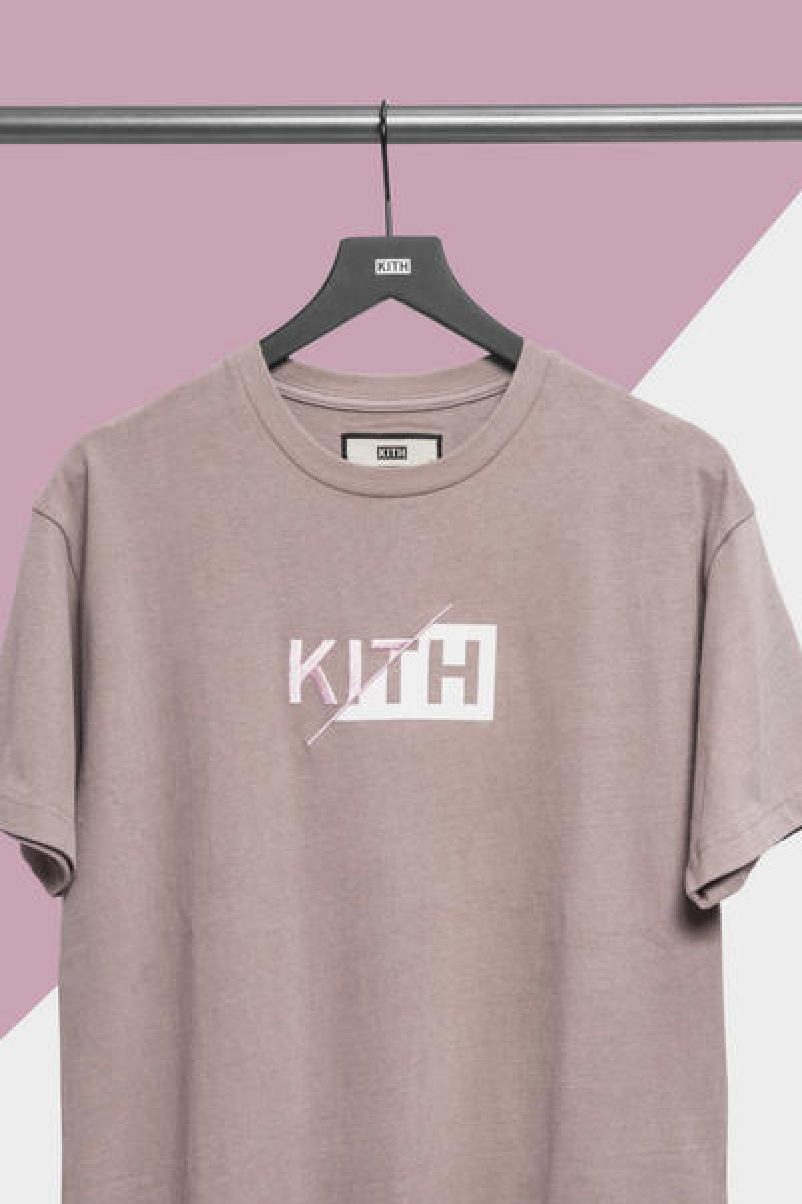 "KITH Delivers New ""Slash Logo"""