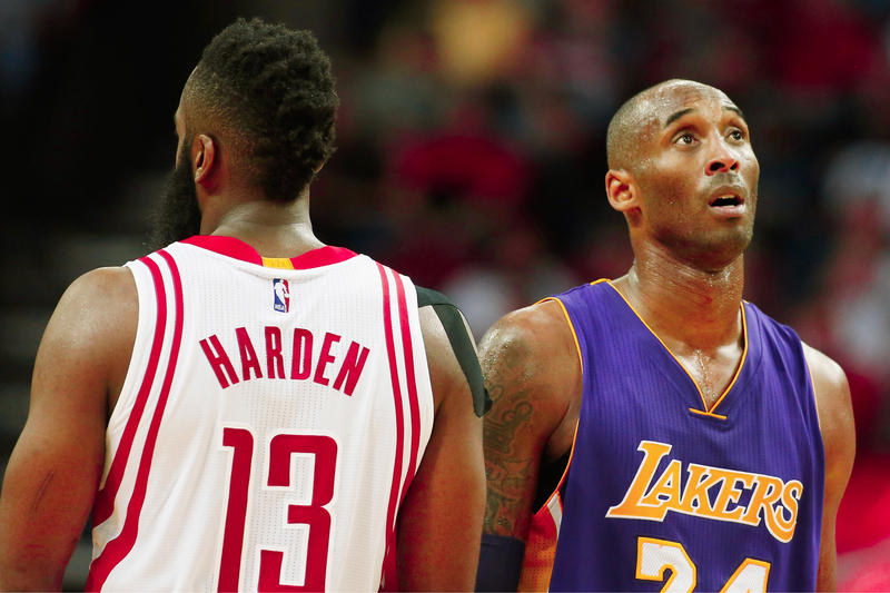 Kobe Bryant 2018 NBA MVP Pick james harden basketball nba