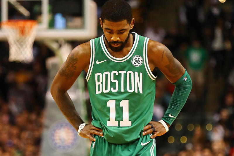 Kyrie Irving Out for Season and Playoffs NBA Boston Celtics sports basketball
