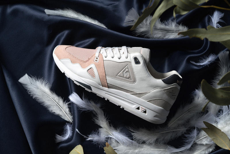 d4286c8ca195 Le Coq Sportif Highs and Lows Collaboration Kicks Sneakers Trainers Shoes  Closer Look Pink Grey Navy