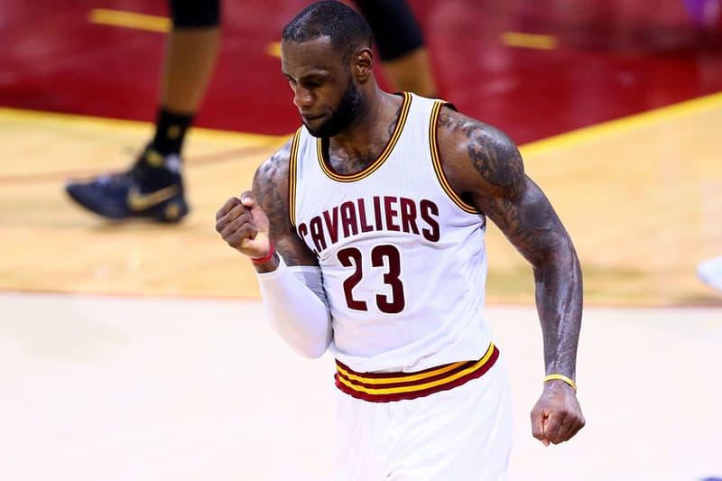 LeBron James Double Digit Scoring Record NBA Michael Jordan Cleveland Cavaliers