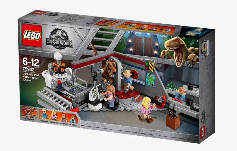 LEGO Jurassic Park World Set 25th Anniversary