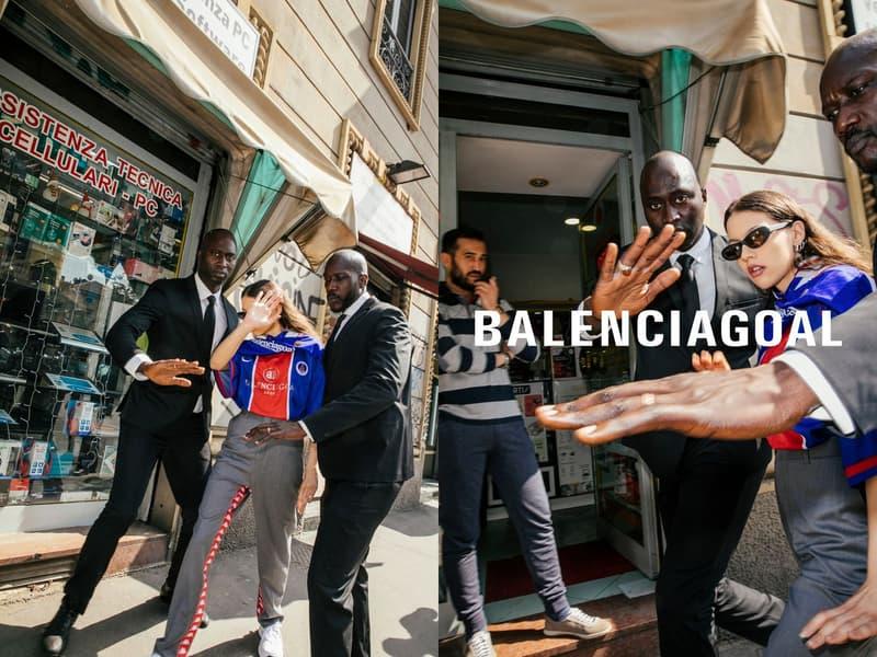 Les Vetements de Football Spring/Summer 2018 Balenciaga Vetements COMME des GARÇONS lookbooks paris saint germain germany england brazil