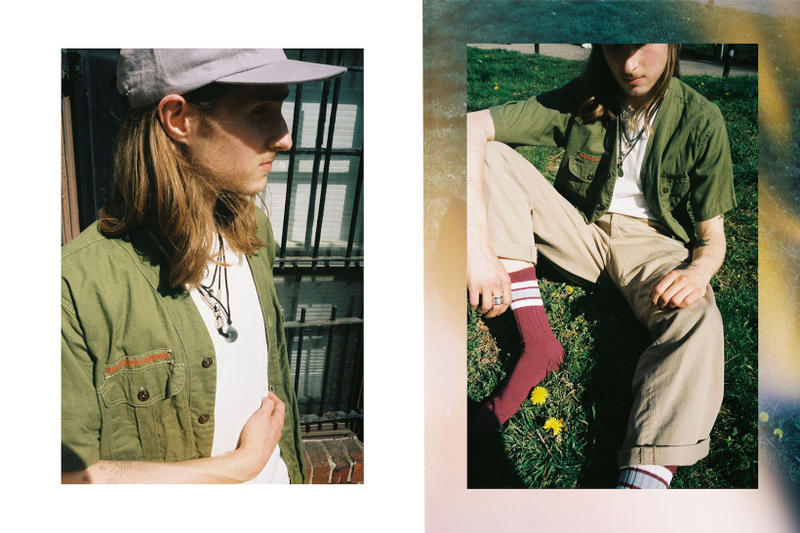 MAPLE Spring Summer 2018 Editorial SS18 washingto dc release date info drop jewelry bandana cap linen cotton sock silver necklace ring