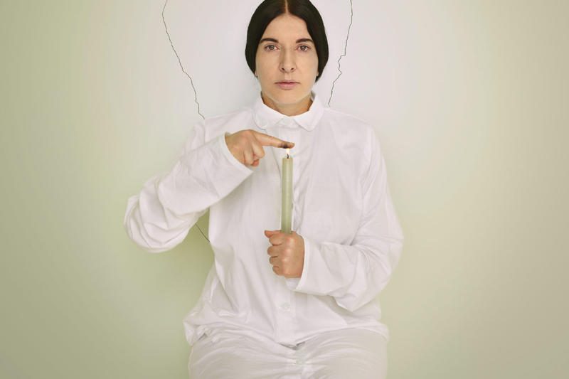 marina abramovic royal academy of arts exhibition performance art artwork sculpture