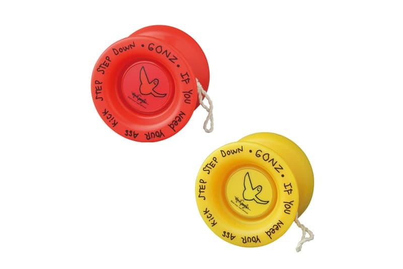 Mark Gonzales Medicom Toy FRESHTHINGS Yo Yo red yellow april 27 release date info drop 2018 hiroyuki suzuki red yellow collaboration artwork gonz