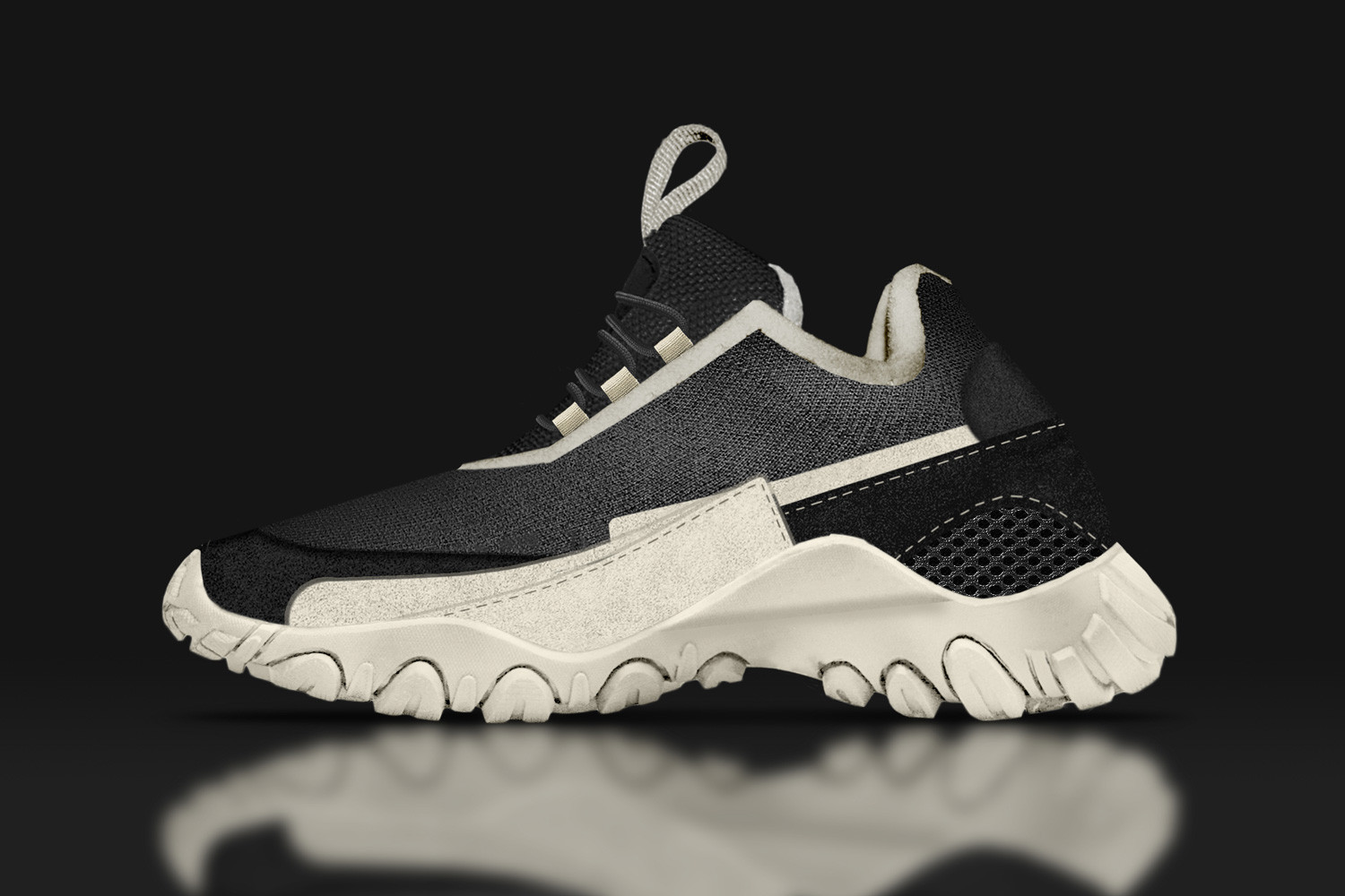 Chunky Sneakers Concept Designs Dad Shoes