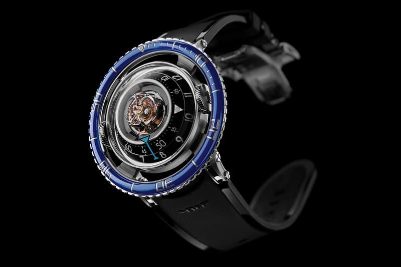 MB&F Aquapod Green sapphire dive watch limited edition