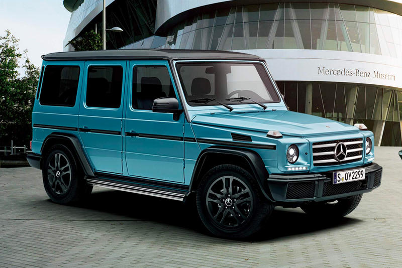 mercedes benz new exclusive g class models hypebeast