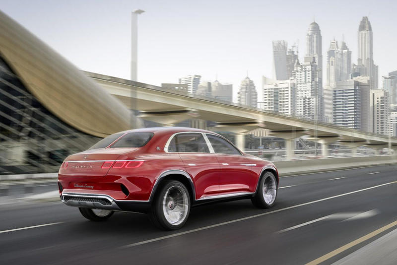 Mercedes Maybach VIsion Ultimate Luxury Concept car suv sedan 2020 production model red turbine wheels luxury vehicle 2018 Beijing Auto Show