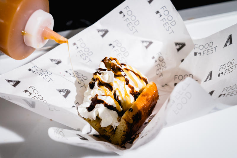 MLB FoodFest 2018 Photos Videos Hot Dogs Burgers Fries Food Festival Mariano Rivera David Ortiz Joey Chestnut Nathans Mets Phillies Marlins Braves Nationals Cubs Brewers Reds Tigers Indians Twins Royals White Sox Astros Padres Dodgers Giants Rockies Diamondbacks Angels Mariners Rangers Athletics Cardinals Pirates Red Sox Yankees Rays Orioles Blue Jays