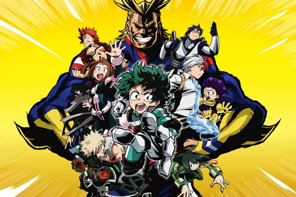 My Hero Academia Season 3 Crunchyroll Shonen Jump Dragonball Z Naruto