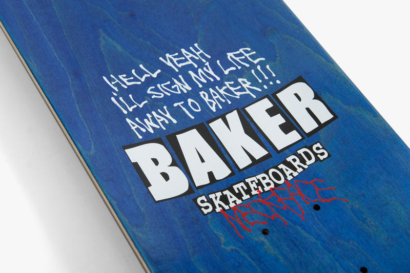 Neckface Baker Skateboards Capsule Collection T-shirt
