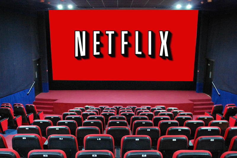 Netflix Purchase Theatre Chain Screen Movies Cannes Film Festival Oscars