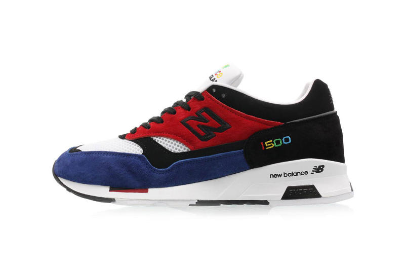 603a9ee0 ... Model Gets More Multi-Colored Options. Two unique pairs for the warmer  months. new balance 1500 made in england colorway release footwear shoes  sneakers ...