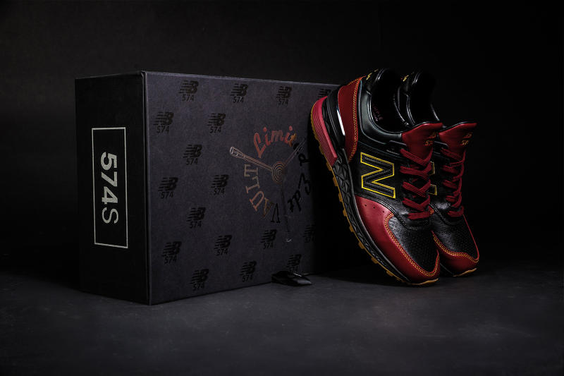56c75e1536996 New Balance 574 Sport Limited EDT Vault Collaboration Singapore Exclusive  Box 10 year anniversary