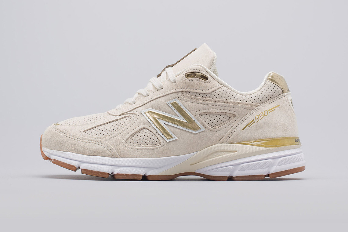 cheap for discount a59a5 d2043 New Balance 990v4 Off-White Pigskin Suede | HYPEBEAST